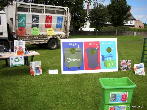 Council's recycling outreach programme successfully engages public