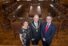 Mr Speaker welcomed to Douglas Town Hall