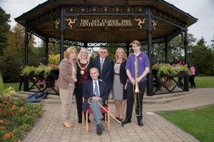 Noble's Park Centenary Bandstand re-named