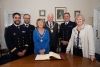 Mayor hosts courtesy visit from French Navy training vessels' commanders