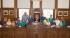 HBN School holds school council in town hall chamber