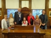 Mayor recognises 'Superheroine's' achievements