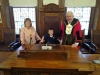 'Marathon Man' Dylan meets the Mayor