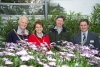 Ballaughton in bloom: Mayoral visit to nursery