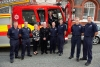 Fire and Rescue Service crew members welcomed to the town hall
