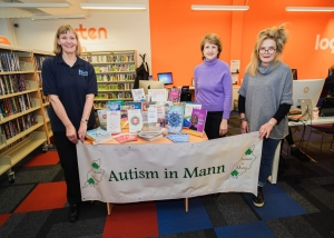 Henry Bloom Noble Library supporting Autism in Mann