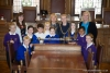Onchan School holds school council in council chamber