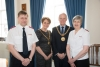 Salvation Army Captains welcomed to the Mayor's parlour