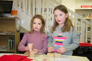 Half-term workshop at the library