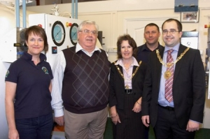 Hyberbaric facility welcomes the Mayor and Mayoress