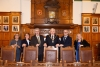 Mayor hosts Tynwald presiding officers