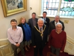 Green Flag judges welcomed to the Mayor's parlour